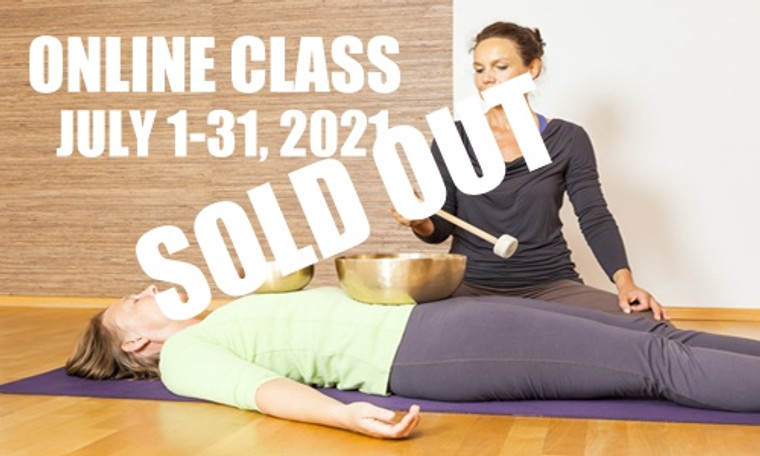 **SOLD OUT**  ONLINE VSA Singing Bowl Vibrational Sound Therapy Certification Course July 1-31, 2021