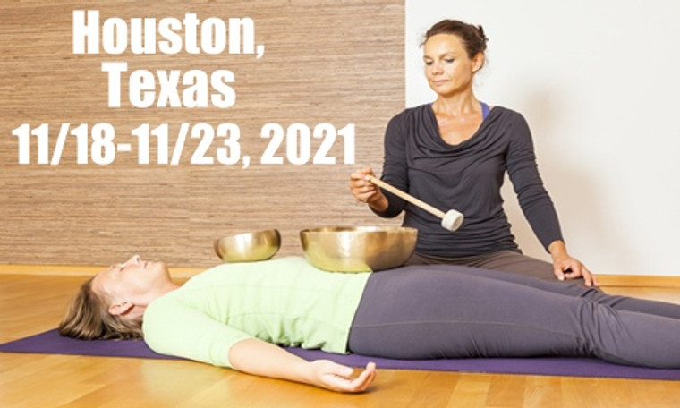 VSA Singing Bowl Vibrational Sound Therapy Certification Course  Houston TX November 18-23, 2021