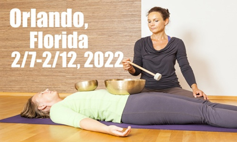 VSA Singing Bowl Vibrational Sound Therapy Certification Course Orlando, Fl February 7-12, 2022
