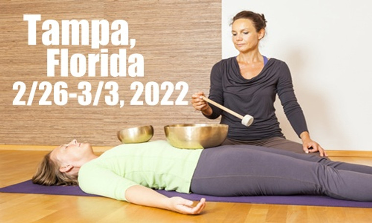 VSA Singing Bowl Vibrational Sound Therapy Certification Course Tampa FL February 26-March 3, 2022