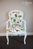 FLORAL CARVED ARMCHAIR | Secret Garden