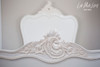 PRE ORDER: Provençal Classic Bed - single size, antique white