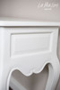 TWO DRAWER HALL TABLE | Pure White