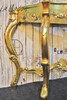 VERSAILLES GOLD CONSOLE TABLE MED