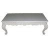 FRENCH PROVINCIAL COFFEE TABLE | White