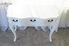 PROVENCE CONSOLE TABLE | Antique White