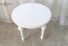 ROMAN OVAL SIDE TABLE