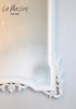 PRE ORDER: Flower Top Mirror - Antique White