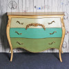CELINE 3 DRAWER CHEST | Antique Blue Green