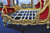 PRE ORDER: Louis deep buttoned bed - round end