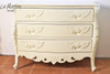 WING CARVED THREE DRAWER CHEST