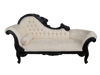 FLOWER CARVED CHAISE LONGUE | Bandele