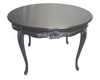 RIBBON ROUND DINING TABLE | Black