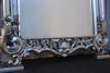 SHELL PEDIMENT MIRROR | Silver