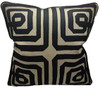 COTTON CUSHION GEOMETRIC