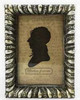 METALLIC SILVER ORNATE FRAME SMALL
