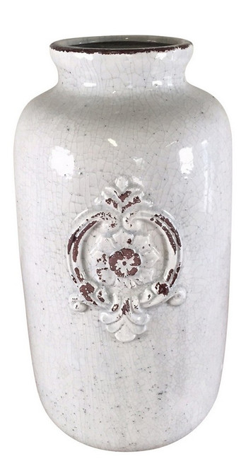 URN WITH FRENCH MONOGRAM
