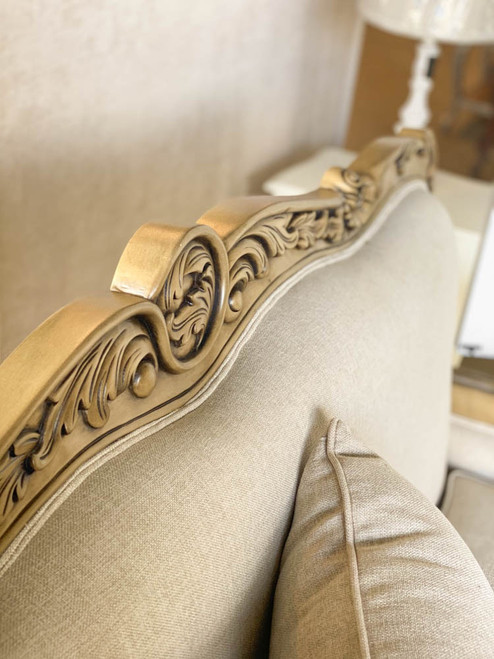 PERLAMO 2 SEATER SOFA | Antique