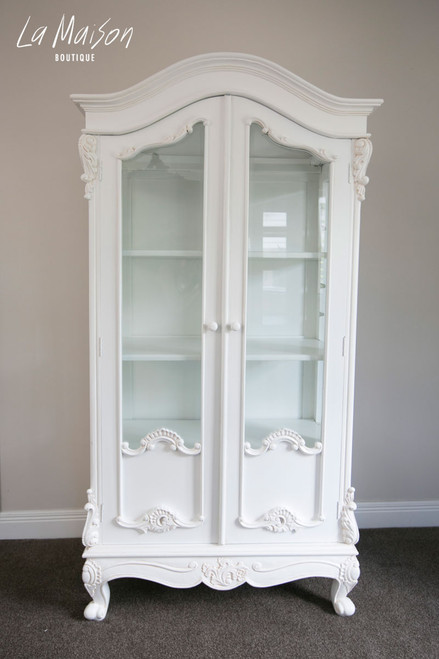 LOUIS XVI DISPLAY CABINET
