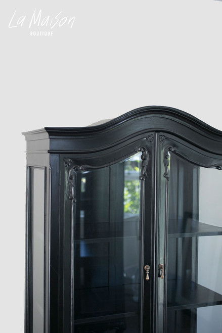 CHANTELLE GLASS DISPLAY CABINET | Black