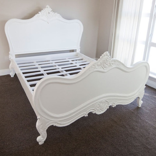 PROVENCAL CLASSIC BED | Pure White