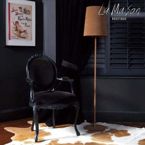 RIBBON ARMCHAIR | Black