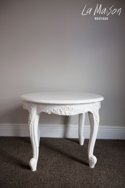 LUCILE ROUND SIDE TABLE