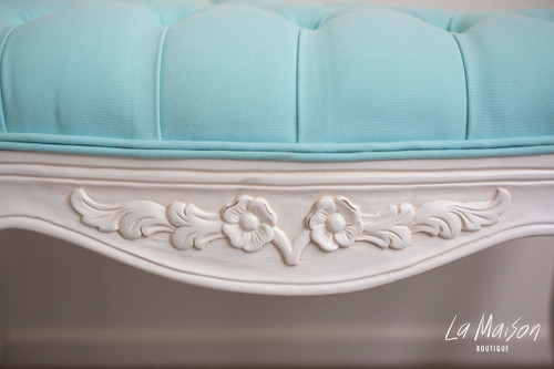 LAURA STOOL | Sky Blue