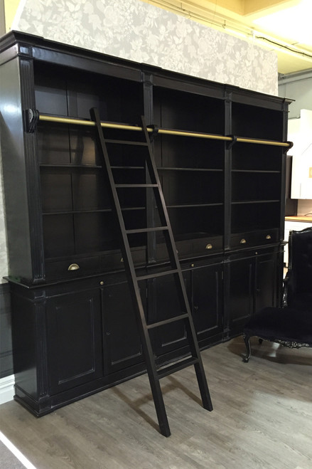 IN STOCK NOW: Library Cabinet - Black