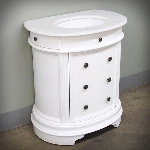 NAPOLI SINGLE BATHROOM VANITY