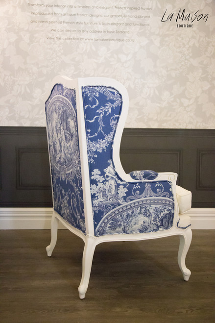 LOUIS WINGBACK CHAIR | La Rochelle