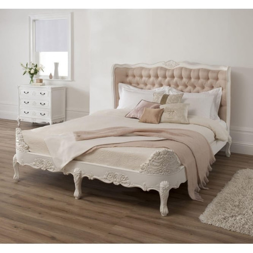 FRENCH CLEMENTINE PADDED BED