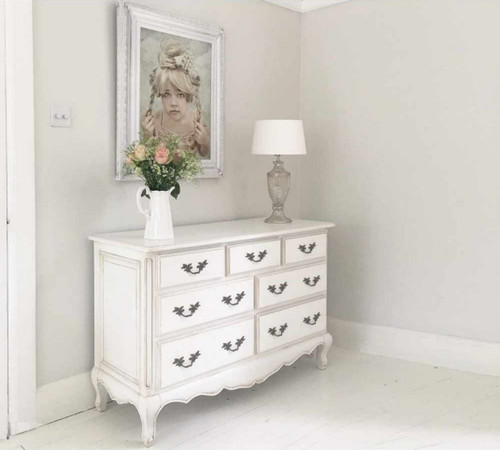 FLORENCE 7 DRAWER CHEST | White