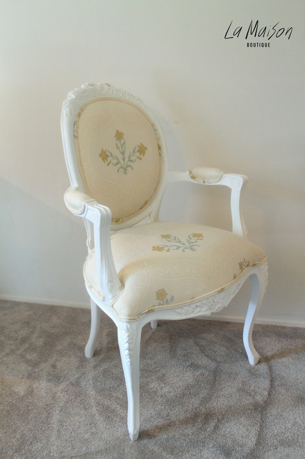 RIBBON ARMCHAIR | Cream Floral