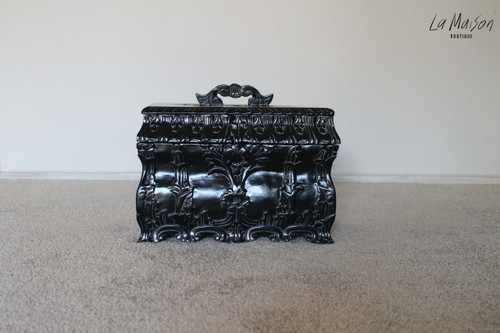 PRE ORDER: Jewellery Casket | Antique Black