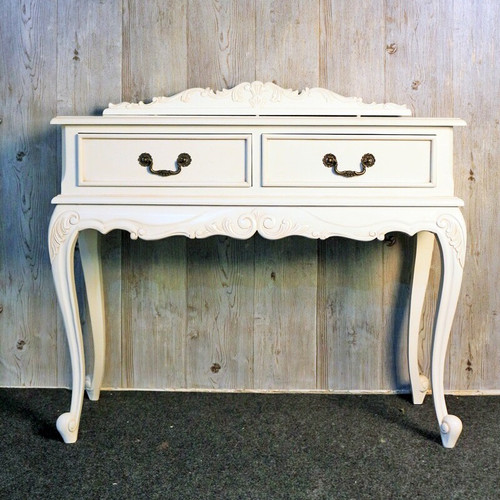 LAURETTE SIDE TABLE WITH CREST