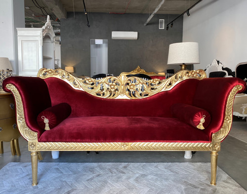 ALSACE CHAISE LONGUE   Red