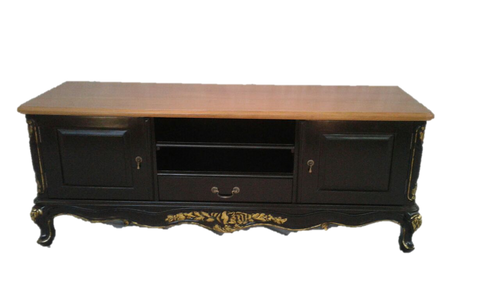 PRE ORDER: Sideboard/ TV cabinet/ Entertainment unit - black