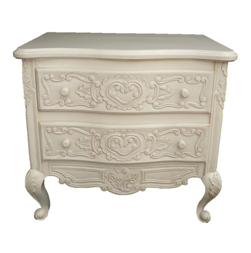 PRE ORDER: French handcraft 2 Drawer Bedside