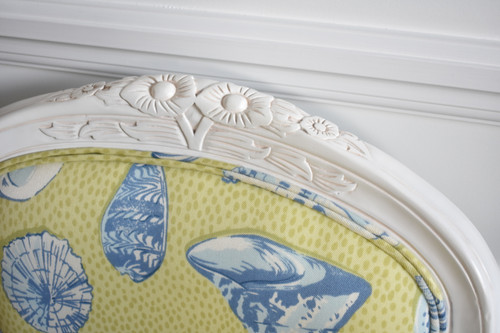 FLORAL CARVED ARMCHAIR | She Sells Seashells