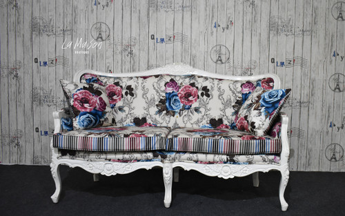PRE ORDER : Belle two seater sofa - Floral