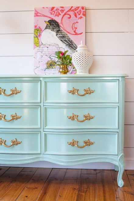 FRENCH NORMANDY 9 DRAWER CHEST | Duck Egg Blue