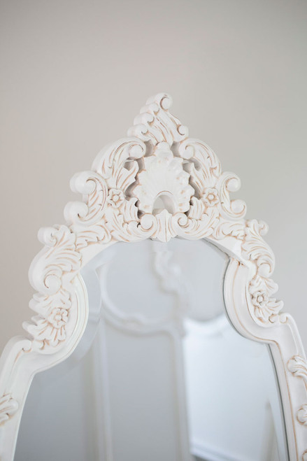 CHEVAL MIRROR | White