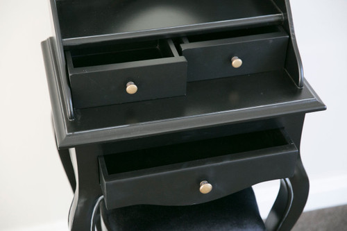 OVAL DRESSER SET | Black