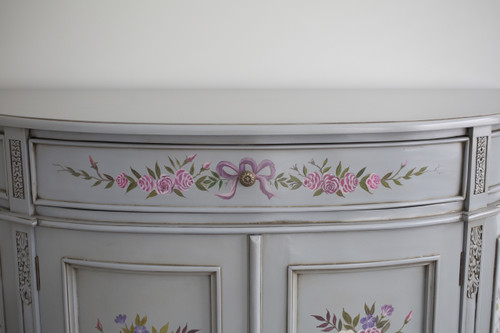 HAND PAINTED LUNE SIDEBOARD