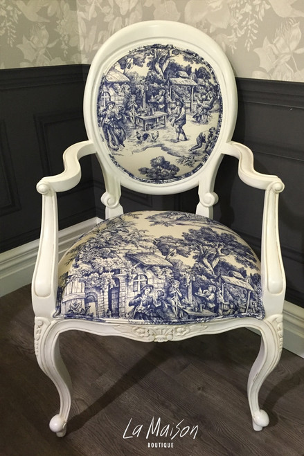 WILLOW ARMCHAIR | Toile