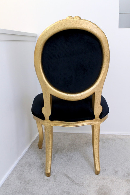 ROSEBUD DINER CHAIR | Gold