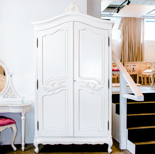 CHARMANT 2 DOOR ARMOIRE