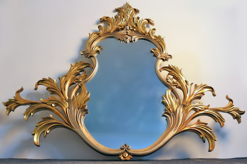 LEAF MIRROR | Gold