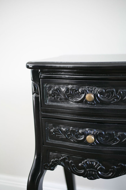 LOUIS BEDSIDE TABLE | Black